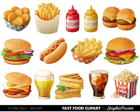 food clipart fries clipart food pencil and in color