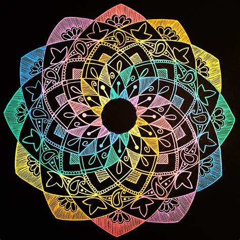 colorful mandala mandalas by graduate student fernanda bonafini to be