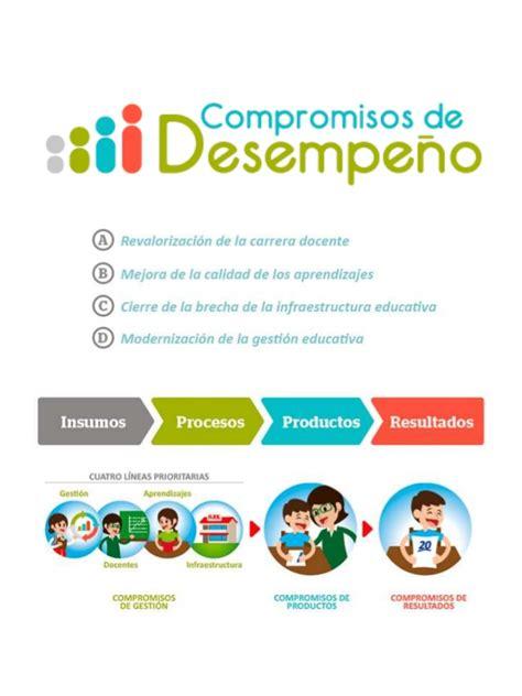 evaluaciones de desempeo docente 2016 compromisos de desempe 241 o 2016