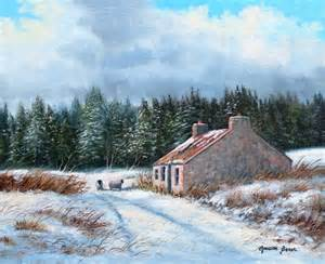 winter cottage slemish by blair