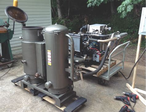 turn wood into free motor fuel with a wood gasifier