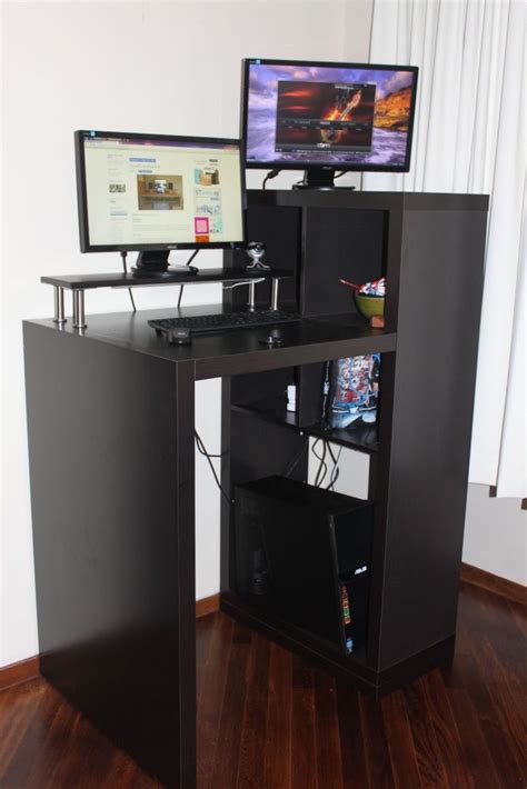 build your own stand up desk build your own stand up desk from recycled wood homesfeed
