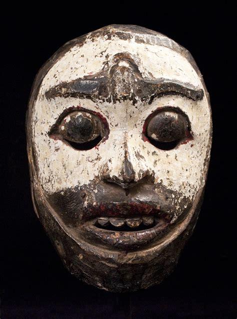 Masker Indo tribal mask lombok island indonesia