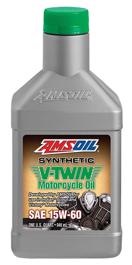 AMSOIL 15W 60 Synthetic V Twin Motorcycle Oil