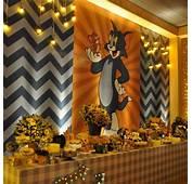 Festa Da Livia Martins  Tom &amp Jerry Birthday Pinterest
