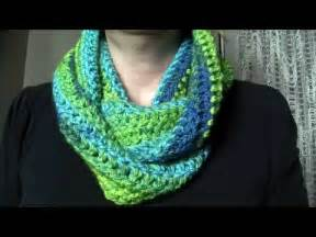 Easy Crochet Infinity Scarf Pattern For Beginners Crochet Easy Infinity Scarf