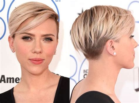 why scarlett johansson cut hair pinterest the world s catalog of ideas