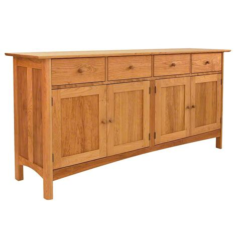 in stock modern shaker long sideboard buffet solid