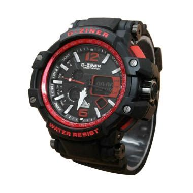Tali Jam Dziner 8090 Rubber D Ziner D Ziner 8090 Dz 8090 jual d ziner d8090 dual time jam tangan pria