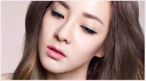 tutorial make up idol korea article sandara park listed in 10 korean makeup trends