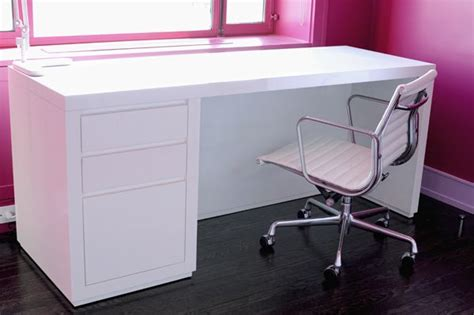White Gloss Desk With Drawers by High Gloss White Desk New Home Mood Board