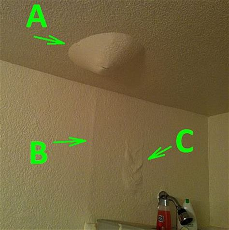 bathroom leaks through ceiling insurance sacramento general contractor helps with signs of water leak