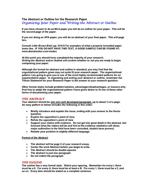 writing an abstract for research paper how to write an abstract for a research paper essays