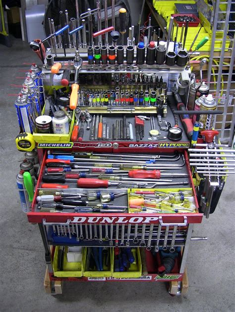 Power Tool Storage Garage Journal Tuned Tool Cart Pics Motorcycle Purposed The