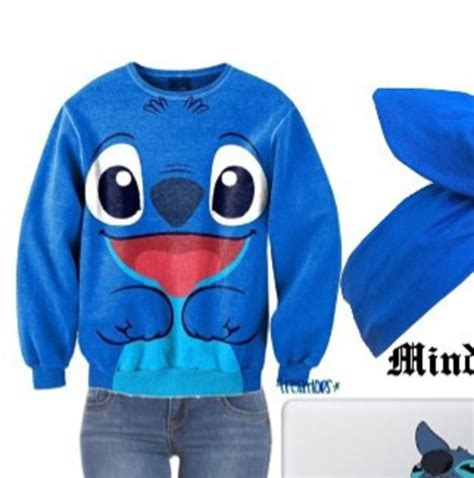 Sweater Rajut Lilo Stitch sweater lilo and stitch wheretoget