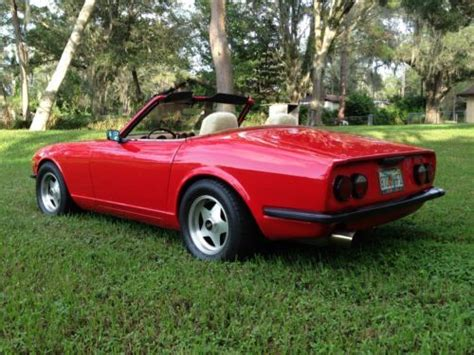 Datsun 240z Convertible by Buy Used 1971 Datsun 240z Turbo Charged Convertible In