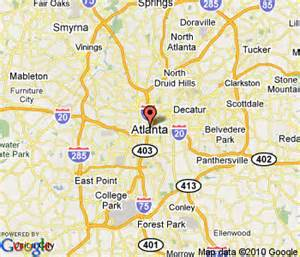 atlanta on us map images and places pictures and info atlanta ga united states
