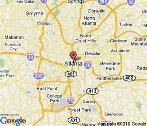 map of atlanta usa fotos atlanta usaseite 5