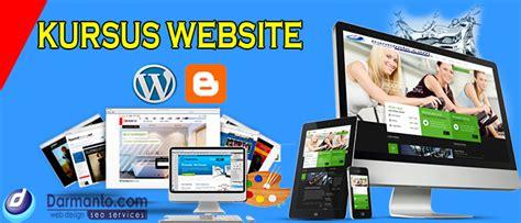 membuat website untuk menghasilkan uang pelatihan membuat website blog penghasil uang darmanto com