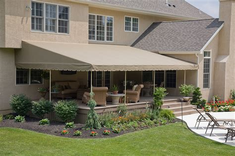 Stationary Awnings For Decks by Stationary Canopies Kreider S Canvas Service Inc
