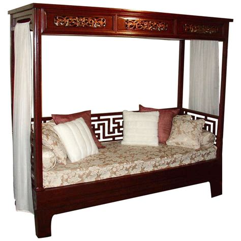 canopy beds for sale elegant red lacquer canopy bed for sale at 1stdibs