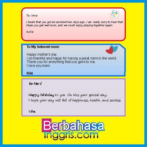 membuat kartu ucapan selamat menggunakan bahasa inggris pengertian dan 64 contoh greeting card bahasa inggris