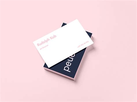 design mockup exles download business card template design mockup free psd at