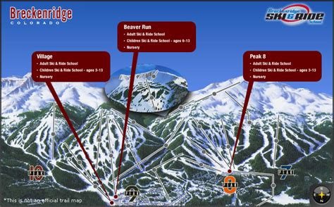 breckenridge ski map breckenridge lessons