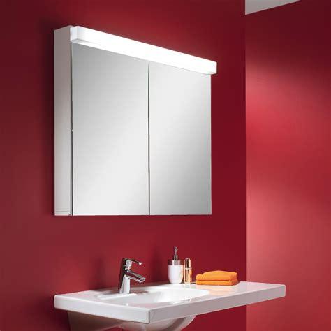 schneider lowline cm  door mirror cabinet  led light