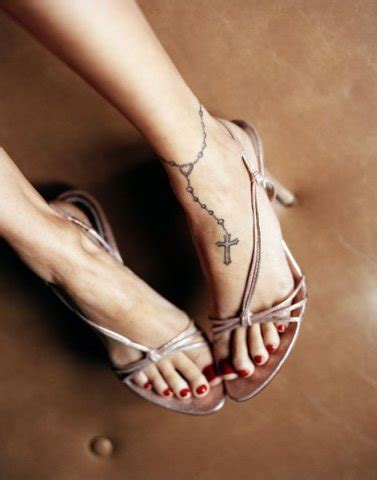 cross tattoos for women on foot cross tattoos for on foot