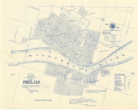 portland and vicinity classic reprint books map vintage portland