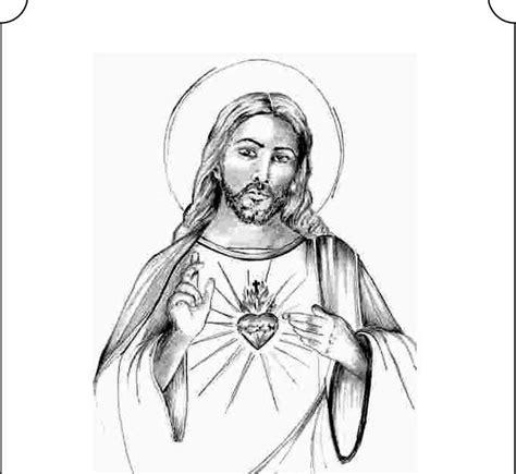 imagenes catolicas en blanco y negro tarjetas y oraciones catolicas coraz 211 n de jes 218 s blanco y