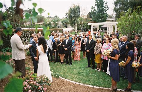 backyard wedding ceremony autumn backyard wedding mike green wedding