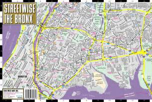 Map Of New York Bronx by Bronx Map Street Images