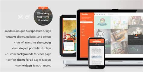 themeforest koncept wowway interactive responsive portfolio theme
