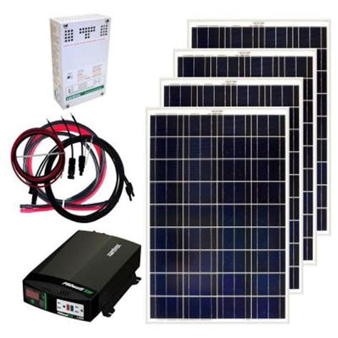 grape solar 400 watt grid solar panel kit gs 400 kit