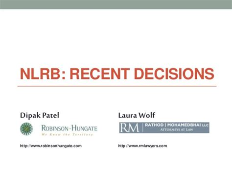 National Labor Relations Board Search National Labor Relations Board Update