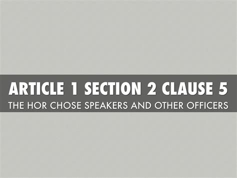 article 1 section 3 clause 6 constitution by nick cobb