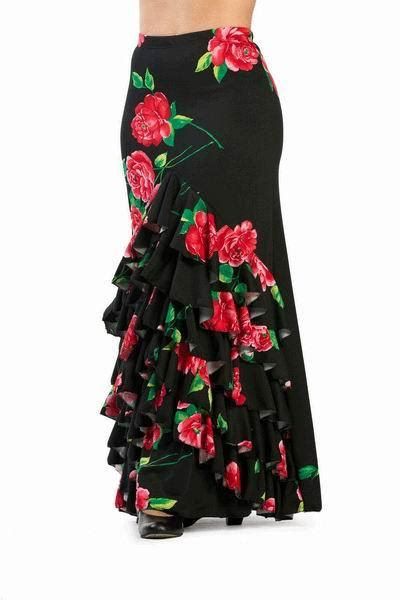 Modele Jupe Flamenco
