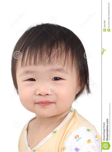 chinese kid stock image image  smile isolated black