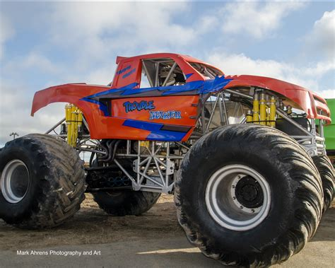 monster trucks show trouble maker and double trouble mark ahrens photography