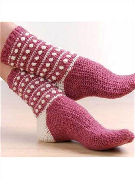 pattern socks free 6 free crochet socks pattern 101 crochet