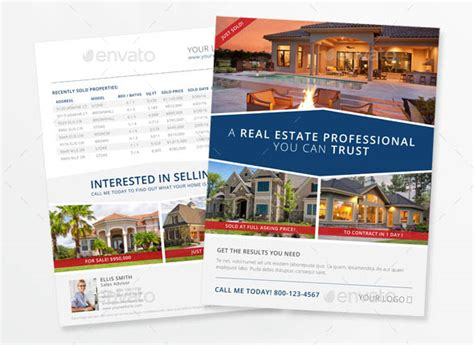 indesign real estate flyer templates indesign flyer templates top 50 indd flyers for 2017