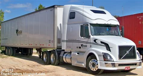 volvo transport truck truck trailer transport express freight logistic diesel
