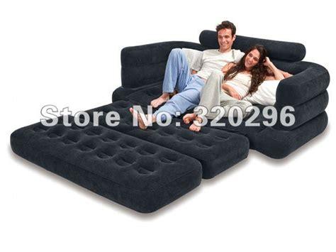 high quality intex pull  sofa air bed intex