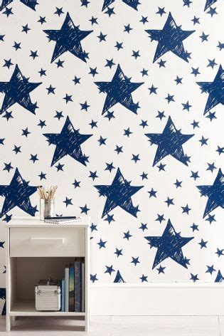 star wallpaper bedrooms buy paste the wall star wallpaper from the next uk online shop