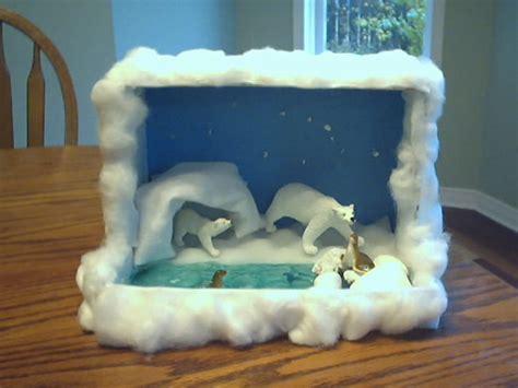 K 3d Polar Kid polar diarama polar bears oh my sydney project polar bears and