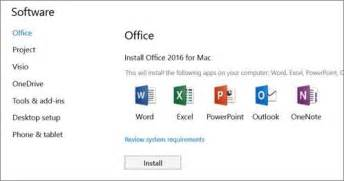 Office 365 Outlook Unlicensed Product And Install Office 2016 For Mac Using Office 365