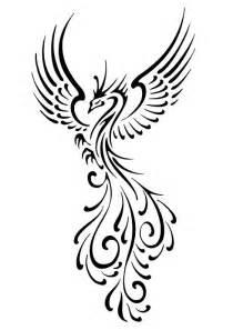 tattoo phoenix black and white phoenix black and white drawing