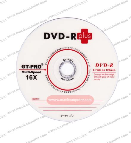 Gtpro Cd Rw jual dvd rw gt pro murah